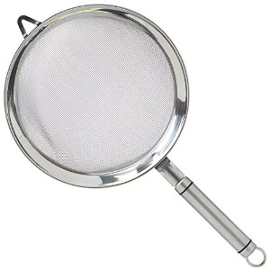 Kitchen Craft Oval Handled Professional Stainless Steel 18cm Sieve