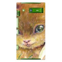 【送料無料】 Squirrel designed by KYOTARO / for URBANO L03/au 【SECOND SKIN】【スマホケース】【ハードケース】urbano l03 カバー...