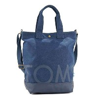 TOMS トムス NAVY TOMS TOTE トートバッグ ネービー 10010063 [並行輸入品]