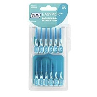 Tepe Easy Pick Interdental Brushes Blue Size M/L Pack of 36 - 6 Pack by TePe