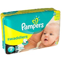 Blankie Soft Jumbo Pack Size 2 Diapers With Wetness Indicator, (32-Count) by Pampers