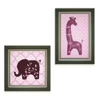 Lambs & Ivy Wall Decor, Lavender Jungle by Lambs & Ivy