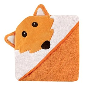 Luvable Friends Velour Animal Hooded Towel, Fox by Luvable Friends