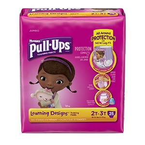 Huggies Pull-Ups Training Pants - Learning Designs - Girls - 2T-3T - 25 ct by Huggies