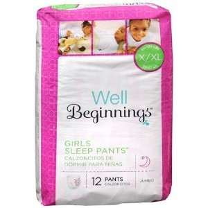 Well Beginnings Youth Sleep Pants Girl, Large/X-Large-12 ea by Well Beginnings