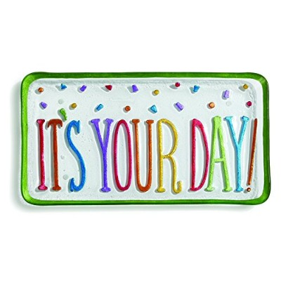 Silvestri It's Your Day Platter, Multicolor