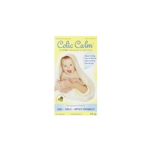 Colic-Calm Homeopathic Gripe Water,Relief of Gas, Colic and Reflux 2 Fluid Ounce by Colic Calm