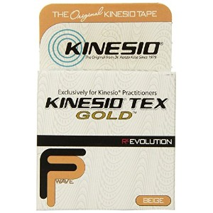Kinesio Tex GoldTM Tape TWO Rolls 2 x 16.4' Beige by Kinesio