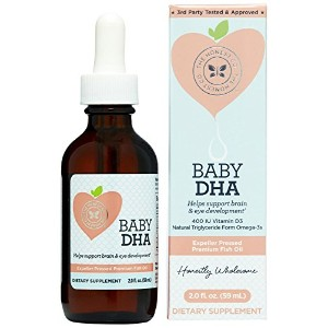 Honest Company Baby DHA Drops - 2oz by The Honest Company