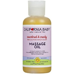 California Baby Overtired & Cranky Mommy & Daddy Oil, 4.5 oz by California Baby