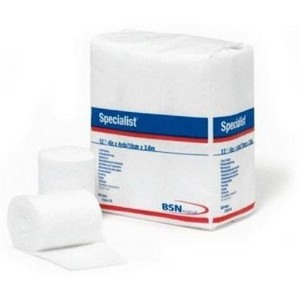 BSN 9043 3 in. x 4 yard 100 Percentage Cotton Specialist Cast Padding, 12 Rolls per Bag by BSN INC.