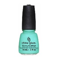 CHINA GLAZE Nail Lacquer - Sunsational - Too Yacht to Handle (並行輸入品)