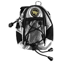 NCAA Wake Forest Demon Deacons–Mini Day Pack–シルバー