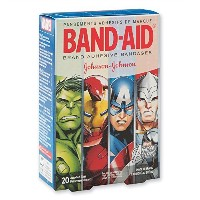 Band-Aidテつョ Avengers Assemble Bandages - First Aid Supplies - 20 per Pack by SmileMakers