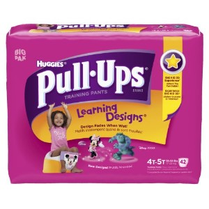 Huggies Pull-Ups Learning Design Training Pants, Size 4T-5T, Girl, 42 Count by Pull-Ups