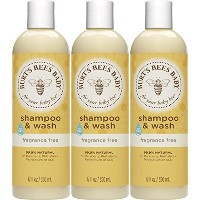 Burt's Bees Baby Shampoo & Wash, Fragrance Free, 12 Ounces (Packaging May Vary) by Burt's Bees