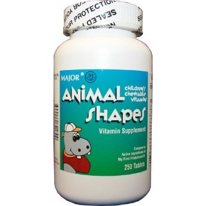 CHEWABLE-VITE TAB MMP 100@ by Animal Shapes
