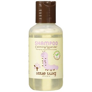 Little Twig All Natural, Hypoallergenic Baby Shampoo with a Blend of Lavender, Lemon, and Tea Tree...