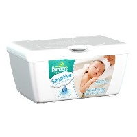 Pampers Sensitive Baby Wipes Tub 64ct. by Procter And Gamble