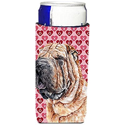 Shar Pei Hearts and Love Ultra Beverage Insulators forスリム缶sc9695muk