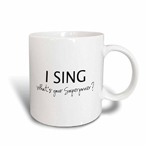 3dローズInspirationzStoreタイポグラフィ – I Sing – Whatsスーパーパワーの – Funny Singing Love Gift For Singers –...
