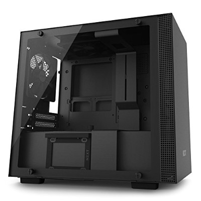 NZXT New H-Series H200i Black [ Mini-ITX ケース ] CA-H200W-BB