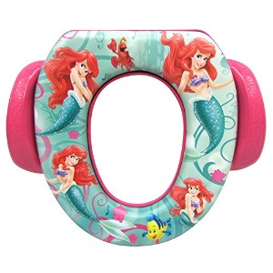 Ginsey The Little Mermaid Potty Seat - Padded, Soft, and Durable - For Regular and Elongated...