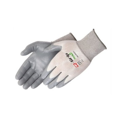 Liberty Q-Grip Ultra-Thin Alternative Nitrile Palm Coated Glove with 15-Gauge Nylon Shell, X-Small,...