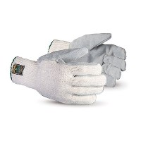 Superior SCPSCLP SilaChlor Combination Heat-Resistant Cotton/Polyester String Knit Glove with...