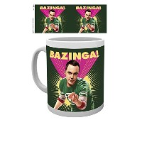 10oz The Big Bang Theory Sheldon Bazinga Mug