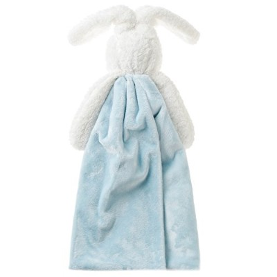 Bunnies by the Bay Bud's Buddy Blanket, Blue Bunny [並行輸入品]