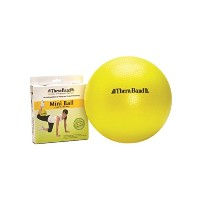 TheraBand Mini Ball, Small Exercise Ball for Abdominal Workouts, Strengthening Core Exercises, Yoga...