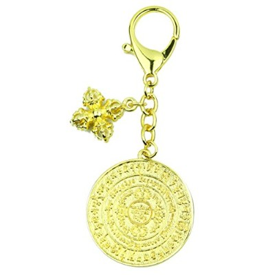 Life Force Chakra Energizer with Double Dorje Keychain Talisman