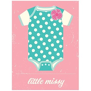 """Oopsy Daisy nb42857Little Missyキャンバス壁アートbyビジョンCity , 10"""" x 14"""""""