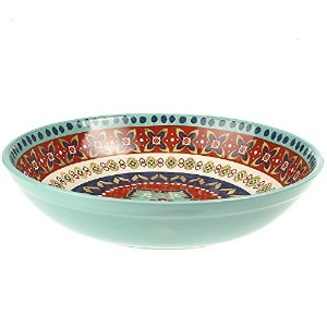 "Certified International Monterreyパスタ/ Serving Bowl、13.25 "" X 3インチ、マルチカラー"