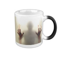 マジックコーヒー熱Sensitive mug-color Changing Walking Dead Zombieマグ