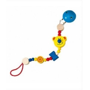 Haba USA 1238 Teddy Pacifier Chain - by HABA