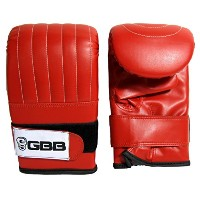 GBB Boxing Mitts with SAS Tec日本語でコンポジット(赤、Extra Large )