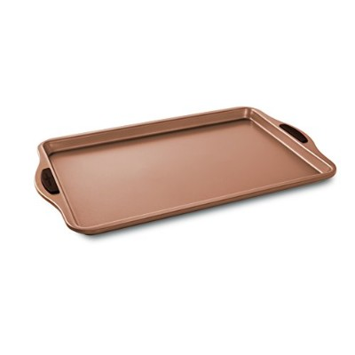 Nordic Ware 48043 Freshly Baked Cookie Sheet, 25cm x 38cm , Copper
