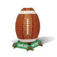 Game Day Football lantern Centerpiece
