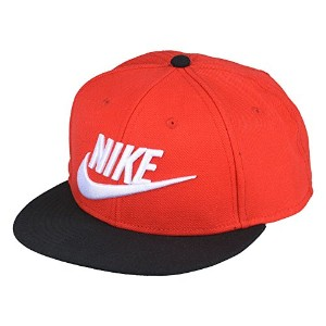 【ナイキ】 NIKE TRUE FUTURA SNAPBACK CAP 584169 659 University Red / Black- Black-White ロゴ キャップ メンズ...