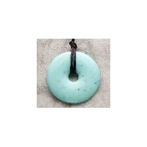 Teething Bling Pendant Necklace (Jade) by Smart Mom Jewelry