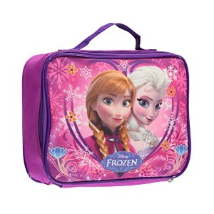 "Disney Frozen」ハートフレーム入り"" Lunchbox one size ピンク bp-5386"