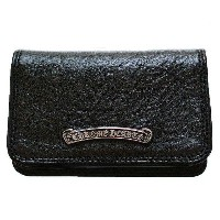 CHROME HEARTS CARD WALLET W/CH SCROLL クロムハーツ カードケース ウォレット 3ポケット CHスクロール