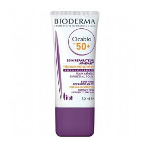 Bioderma Cicabio Spf50+ Cream 30ml [並行輸入品]
