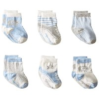 Elegant Baby Baby Boys' Cutie (Baby) - Blue Assortment - 0-12 Months by Elegant Baby