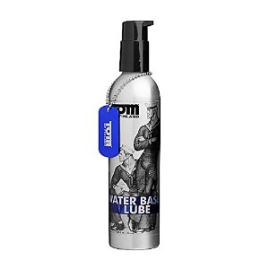 Tom of Finland Water Based Lube, 8 Fluid Ounce by Tom of Finland