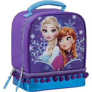 Lunch Bag–Disney Frozen–Insulatedデュアルコンパートメント–Back To School