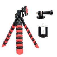 tairoad mg12柔軟な三脚 レッド TAIROAD-TRIPOD-MG12-Red+Black