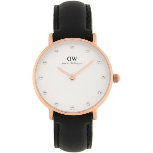 レディース DANIEL WELLINGTON 0901DW CLASSY SHEFFIELD WATCH ROSE GOLD 26MM 腕時計 ホワイト